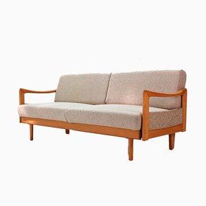 Sofa oder Tagesbett aus Buche, 1970er