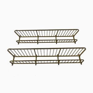 Metal Racks, 1940s, Set of 2