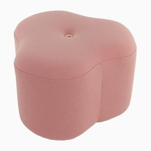 Rosa Poppy Bloom Hocker von Nicolette de Waart
