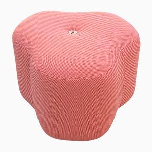 Taburete Popy Bloom rosa de Nicolette de Waart