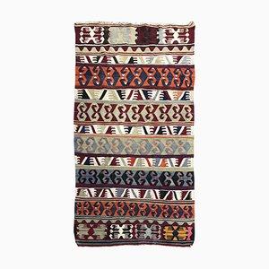 Mid-Century Turkish Anatolian Kilim Rug