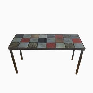 Ceramic Tile Coffee Table by Mado Jolain, 1950s
