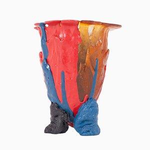 Vaso vintage in resina di Gaetano Pesce