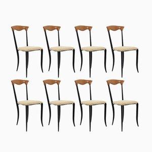 Charme Stühle von Fasem, 1970er, 8er Set