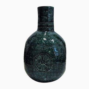Italienische Vase von Aldo Londi für Bitossi, 1950er