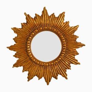 Espejo en forma de sol francés, años 50