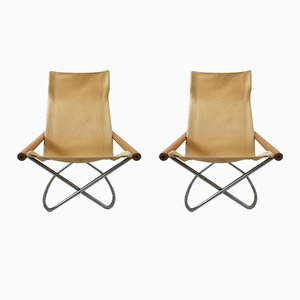 NY Rocking Chairs by Takeshi Nii for Jox Interni, 1958, Set of 2