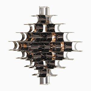 Black Cassiope Lampe von Max und Sebastien Sauze