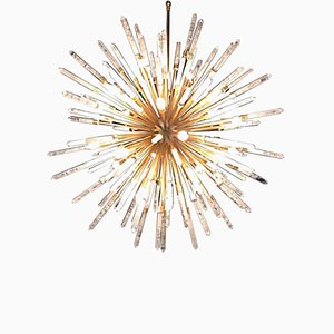 Super Stella Stehlampe aus weißem Bergkristall von Waldir Junior