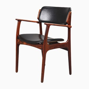 Rosewood Armchair by Erik Buch for O.D. Møbler, 1960s