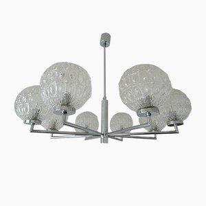 Lámpara de araña Sputnik de Hustadt Leuchten, años 70