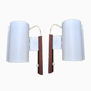 Modell V140/A Wandlampen von Hans-Agne Jakobsson, 1950er, 2er Set