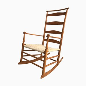 Ladderback Rocking Chair from Shaker, 1970s