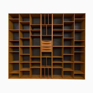 Librería modular de Kurt Ostervig para Kp Mobler, años 60