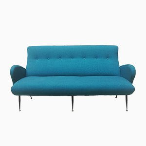 Italian 3 Seater Sofa, 1950s