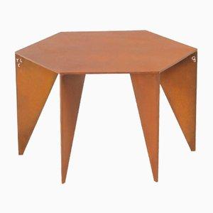Table Brutaliste par Yoan Claveau de Lima pour LES CHOSES EDITION