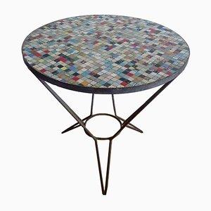 Tavolo con mosaico, anni '50