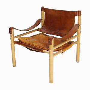 Swedish Safari Sirocco Armchair by Arne Norell for Aneby, 1970s