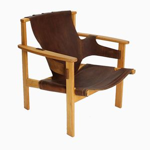 Swedish Trienna Armchair by Carl-Axel Acking for Nordiska Kompaniet, 1957