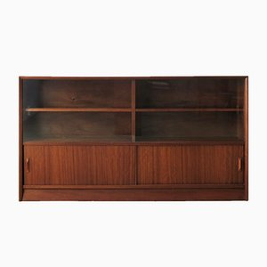 Teak and Glass Bookcase by Herbert Gibbs, 1960s