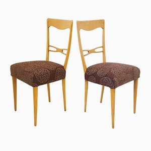 Mid-Century Beech Chairs, 1960s, Set of 4
