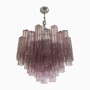 Tronchi Kronleuchter aus Muranoglas in Violett von Italian light design