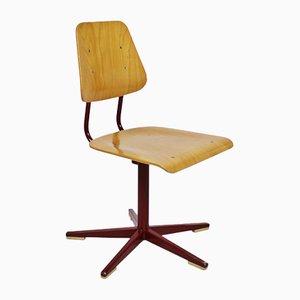 Chaises d'Ecole Ajustables par Embru, Suisse, 1960s