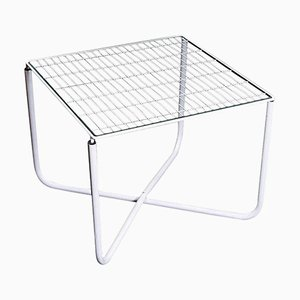 Postmoderner weißer Jarpen Tisch von Niels Gammelgaard für Ikea, 1983
