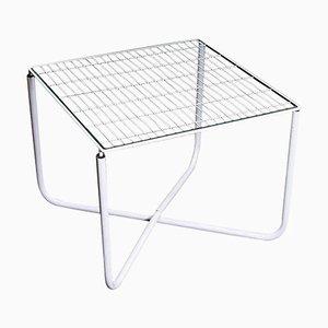Tavolo Jarpen postmoderno bianco di Niels Gammelgaard per Ikea, 1983