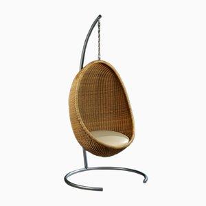 Hängender Vintage Egg Chair Nanna Ditzel