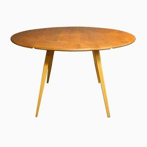 Table à Plateau Rabattable en Orme de Ercol, 1960s