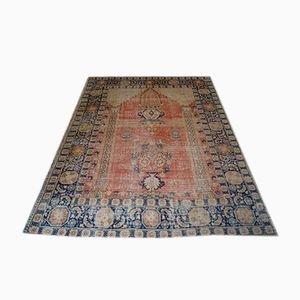 Antique Persian Tafresh Rug, 1860s