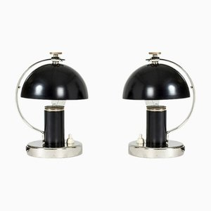Table Lamps by Erik Tidstrand for Nordiska Kompaniet, 1930s , Set of 2