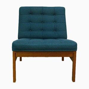Danish Teak Easy Chair by Ole Gjerlov-Knudsen & Torben Lind for France & Søn, 1960s