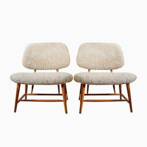 Vintage Te-Ve Sessel von Alf Svensson für Ljungs Industrier, 2er Set