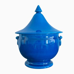 Vintage French Ceramic Pot