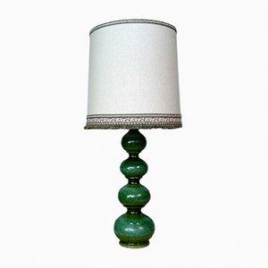 Lámpara de mesa alemana grande de cerámica de Kaiser Leuchten, años 60