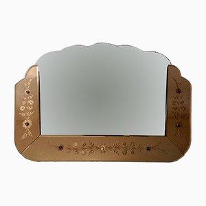 Espejo veneciano Bi-Color, años 40
