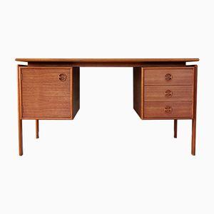 Schreibtisch aus Teak von G.V. Gasvig, 1960er