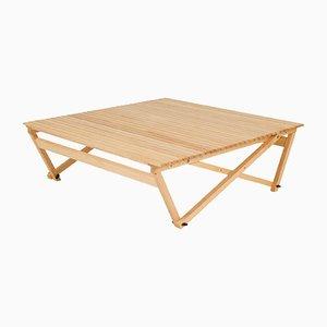 Table Basse Pliante Modèle A6 par Jean-Claude Duboys pour Attitude, 1980s