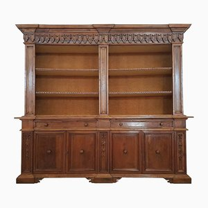 Large Antique Bookcase