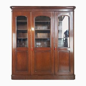 Mahogany Veneered Bookcase, 1880s