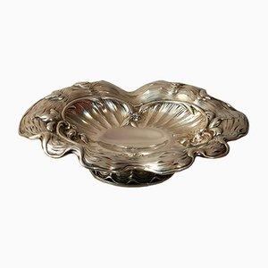Antique Silver Art Nouveau Bowl by Eduard Foehr Stuttgart