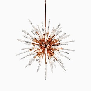 Quartz Pendant Lamp by Waldir Junior