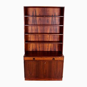 Vintage Brazilian Rosewood Bookcase from Bodafors