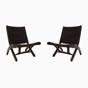 Folding Chairs by Angel Pazmino for Muebles De Estilo, 1960s, Set of 2