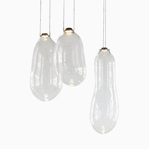 Big Bubble Pendants by Alex de Witte, Set of 3