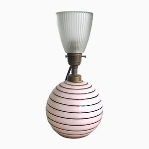 Französische Vintage Tischlampe
