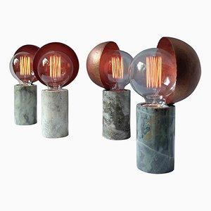 Lámpara de mesa de mármol de Sander Bottinga