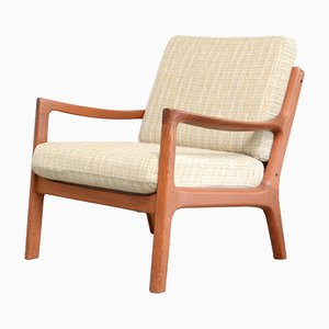 Vintage Senator Teak Easy Chair by Ole Wanscher for Cado